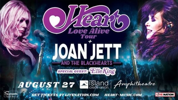 None -  Win Heart: Love Alive Tour with Elle King Tickets