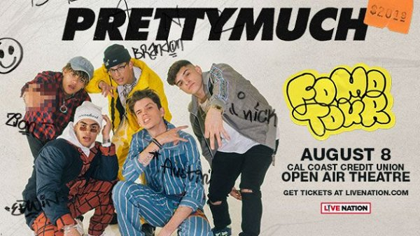 None - Win PRETTYMUCH Tickets