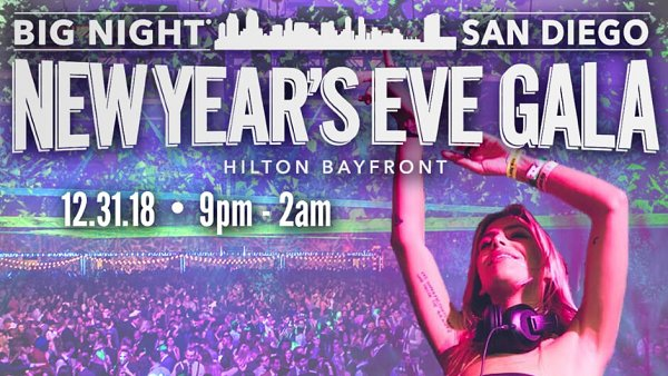 None - Bling in the New Year with Big Night San Diego Tickets + Daniel's Jewelers Gift Card