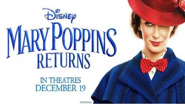 None - Win Mary Poppins Returns Advance Screening Tickets