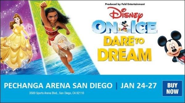 Win Disney on Ice Presents Dare To Dream Passes