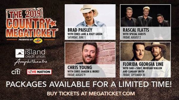 None - Win 2019 Country Megaticket Packages