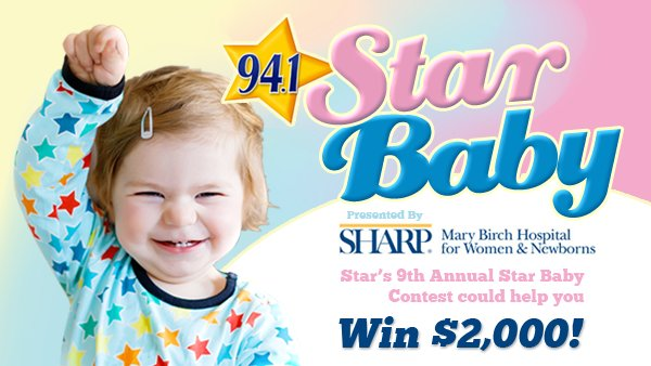 Enter your STAR Baby for a chance to win $2000