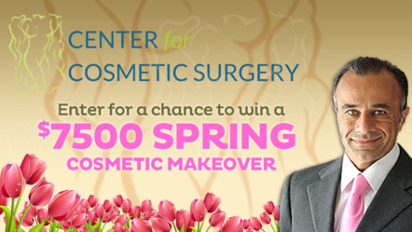 None -     Enter for your chance to win a $7,500 Spring Cosmetic Makeover