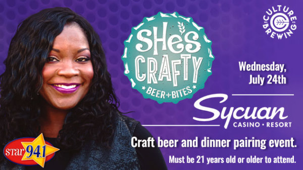None - Win tickets to 'She's Crafty' Event at Sycuan Casino Resort