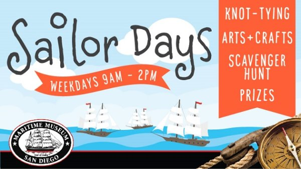 None - Win tickets to Sailor Days at Maritime Museum of San Diego