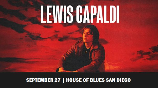 None - Win Lewis Capaldi Tickets