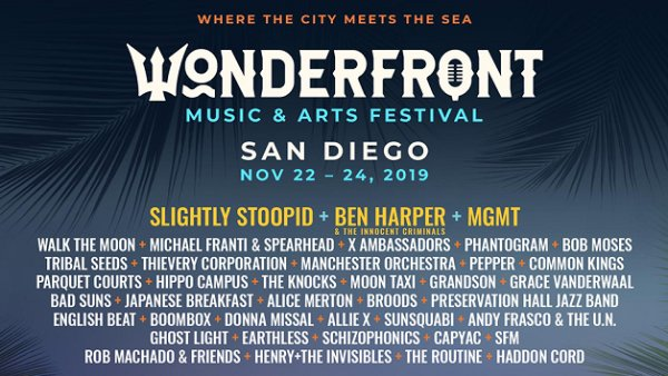 None - Win Wonderfront Festival Passes + Dinner at Luna Grill