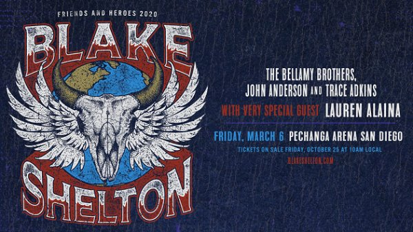 None - Win Blake Shelton Tickets