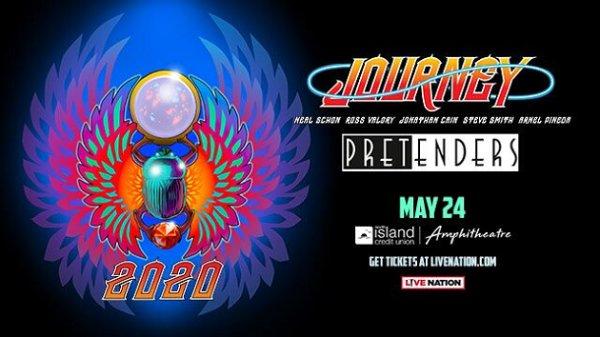 Win Journey & The Pretenders Tickets