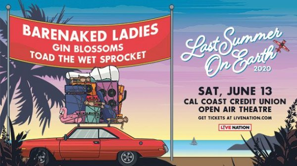 image for Win Barenaked Ladies Tickets