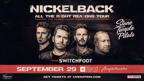 image for Win Nickelback Tickets