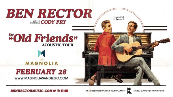 image for Win tickets to Ben Rector at The Magnolia