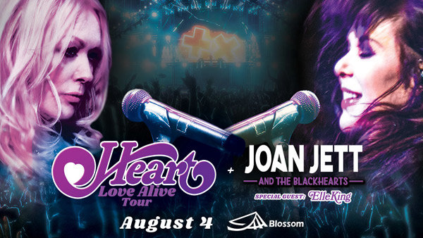 None - See Heart and Joan Jett @ KeyBank Pavilion August 1st!
