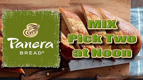 None -  Panera Pick Two at Noon