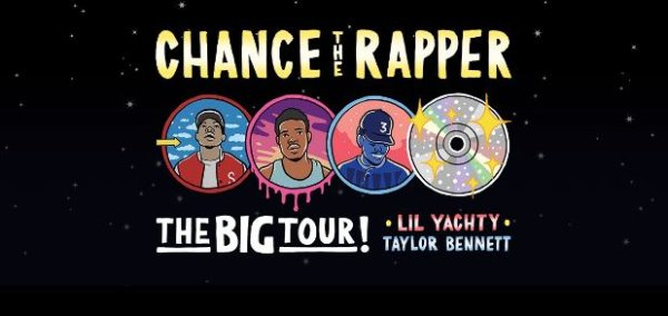 None - Register for your chance to win tickets to see Chance the Rapper!