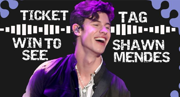 None - Ticket Tag to See Shawn Mendes