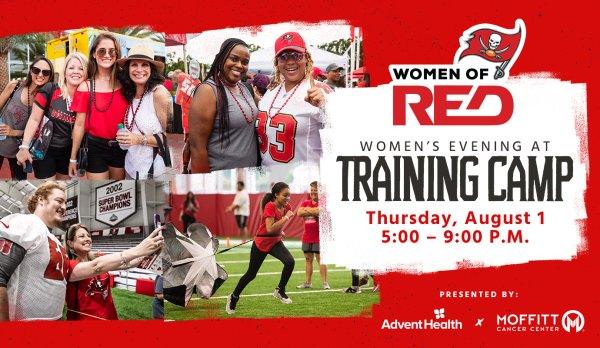None - Win tickets to Tampa Bay Buc's Women of Red event!