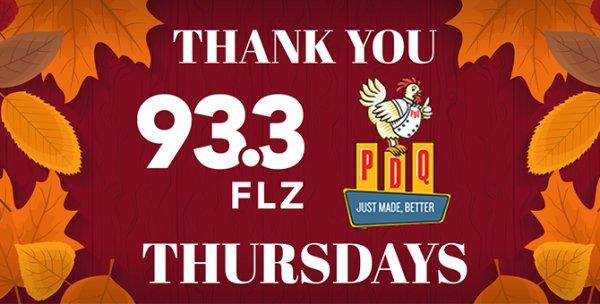 None - Thank You Thursdays PDQ Contest!