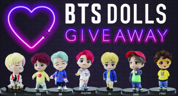 None - Seesaw Sessions BTS Doll Giveaway!