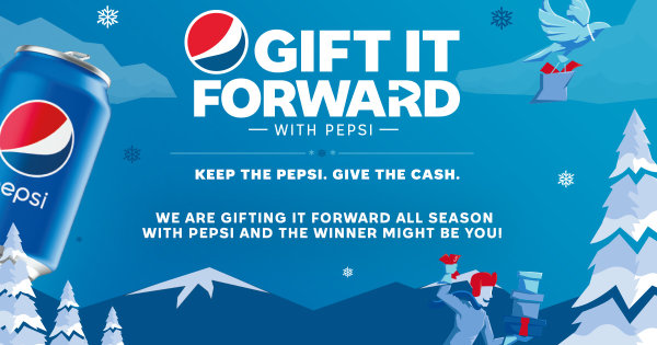 None - Pepsi Gift it Forward