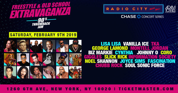 None -  Enter To Win A Pair Of Tickets To The Freestyle & Old School Extravaganza 90's Throwback Jam
