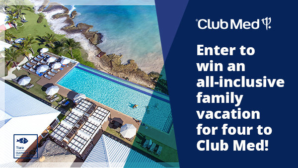 None -  Enter To Win An All-Inclusive Family Vacation for Four to Club Med!