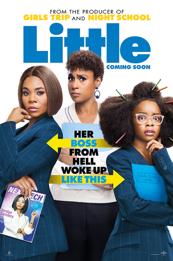 None - Enter For Your Chance To Win A Pair Of Tickets To The Advance Screening Of  LITTLE Starring Regina Hall, Issa Rae, and Marsai Martin In NYC On April 12th!