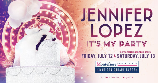 None -  Enter For Your Chance To Win A Pair Of Tickets To See Jennifer Lopez At Madison Square Garden On July 13th! Added Due To Demand!
