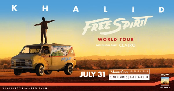 None -  Enter For Your Chance To Win A Pair Of Tickets To See Khalid!