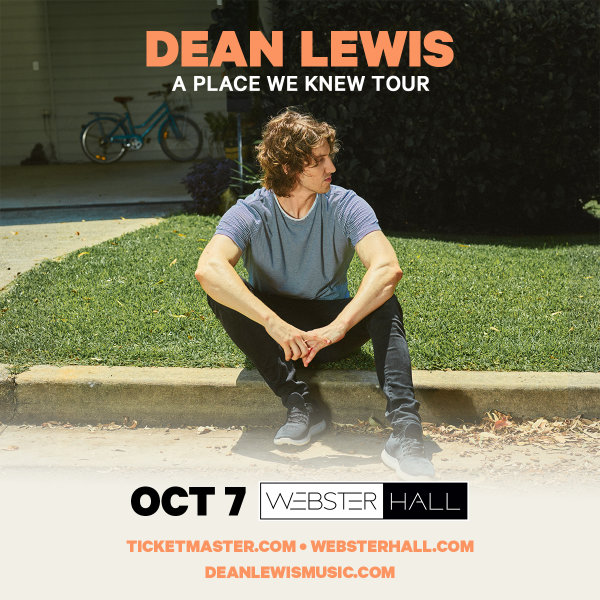 None - Enter For Your Chance To Win A Pair Of Tickets To See Dean Lewis!