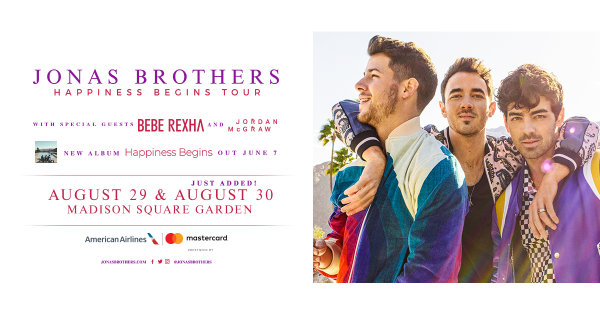 None - Enter For Your Chance To Win A Pair Of Tickets To See The Jonas Brothers!
