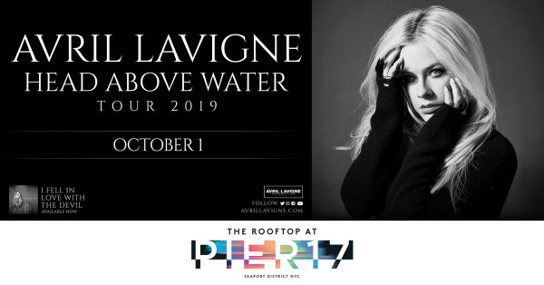 None - Enter For Your Chance To Win A Pair Of Tickets To See Avril Lavigne!