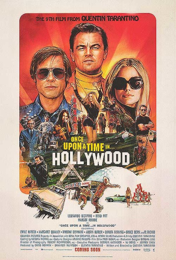 None - Enter For Your Chance To Win A Pair Of Passes To The Advance Screening Of Once Upon A Time...In Hollywood In NYC On July 22nd!