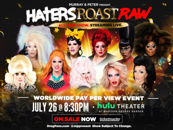 None - Enter For Your Chance To Win A Pair Of Tickets To See Haters Roast RAW!