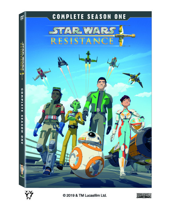 None - Enter For Your Chance To Win A Copy Of Star Wars Resistance: Complete Season One, On DVD August 20th!
