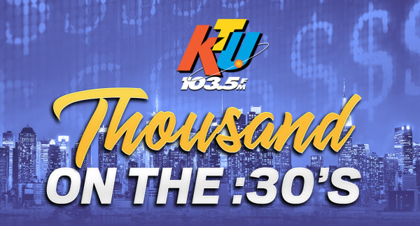 None - 103.5 KTU Is Giving You The Chance to Win $1,000!