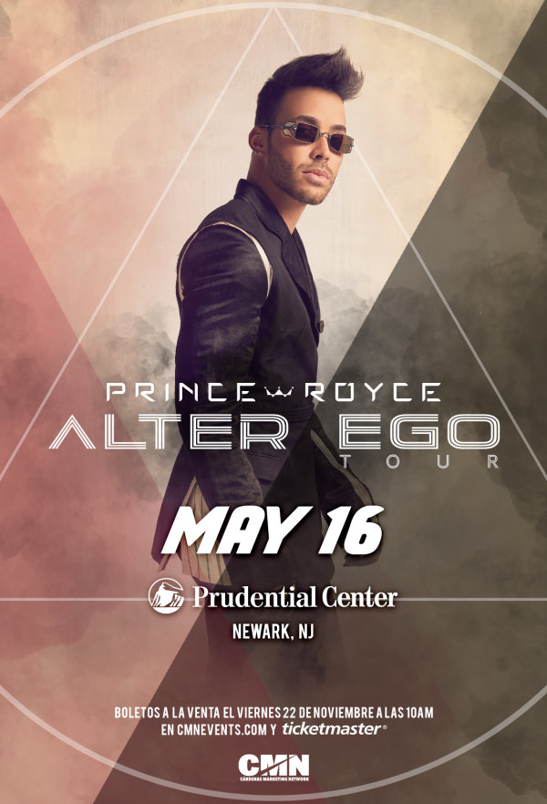 image for Enter For Your Chance To Win A Pair Of Tickets To See Prince Royce!