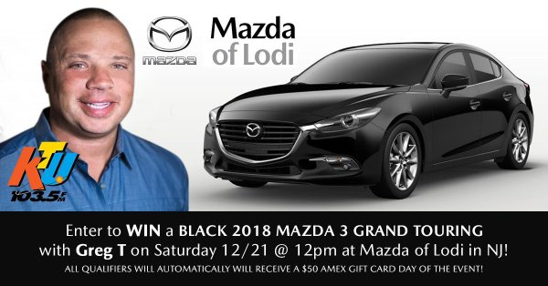 None - Mazda of Lodi Car Giveaway with Greg T