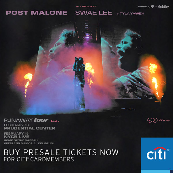 None - Enter For Your Chance To Win A Pair Of Tickets To See Post Malone!