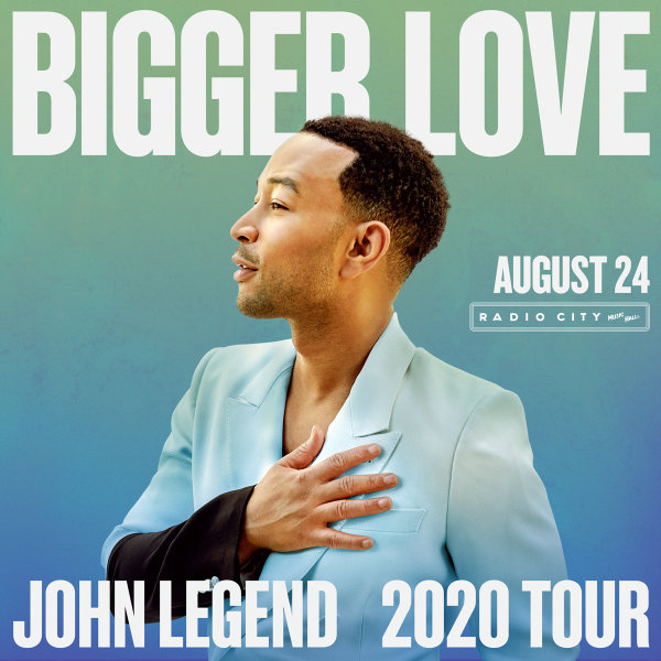 image for Enter For A Chance To Win A Pair Of Tickets To see John Legend!