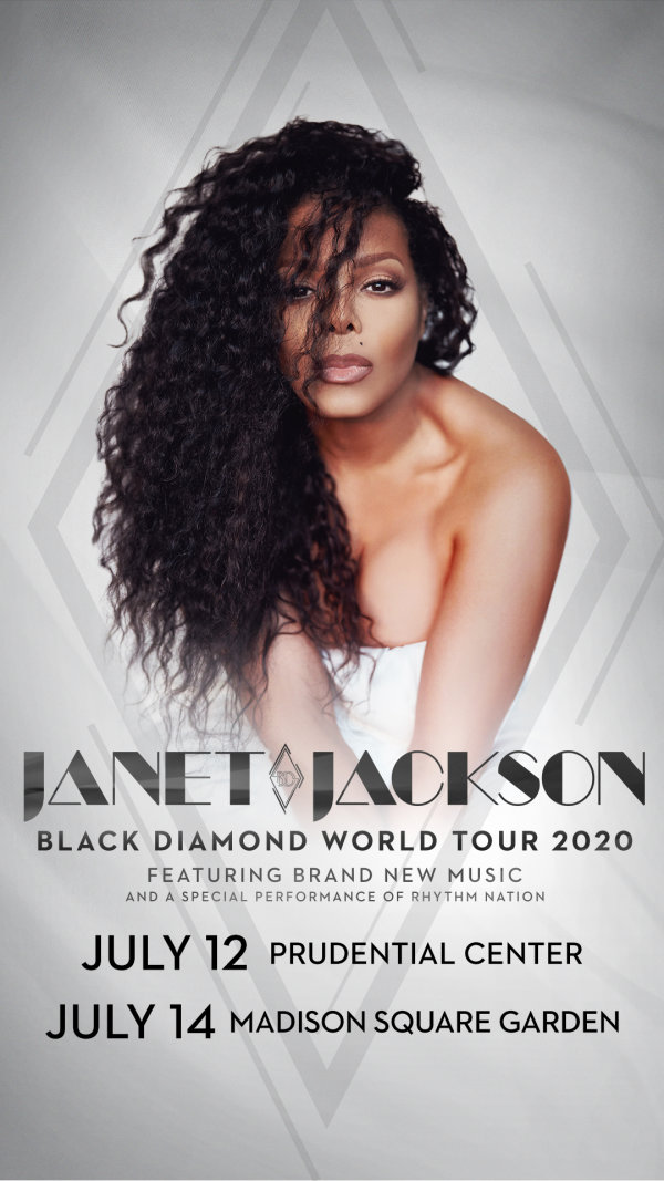 image for Enter For A Chance To Win A Pair Of Tickets To See Janet Jackson!