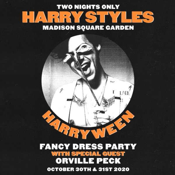 image for Enter For A Chance To Win A Pair Of Tickets To Harry Styles's Harryween Dress Party!
