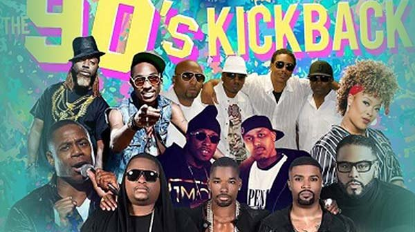 None - Win Tickets to the 90s Kickback Concert