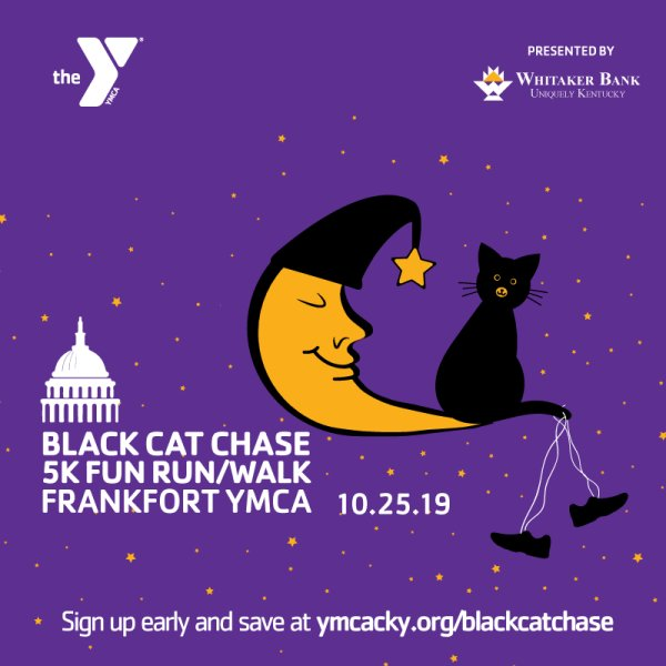 None - Join Meredith's Monsters for the YMCA Black Cat 5k!