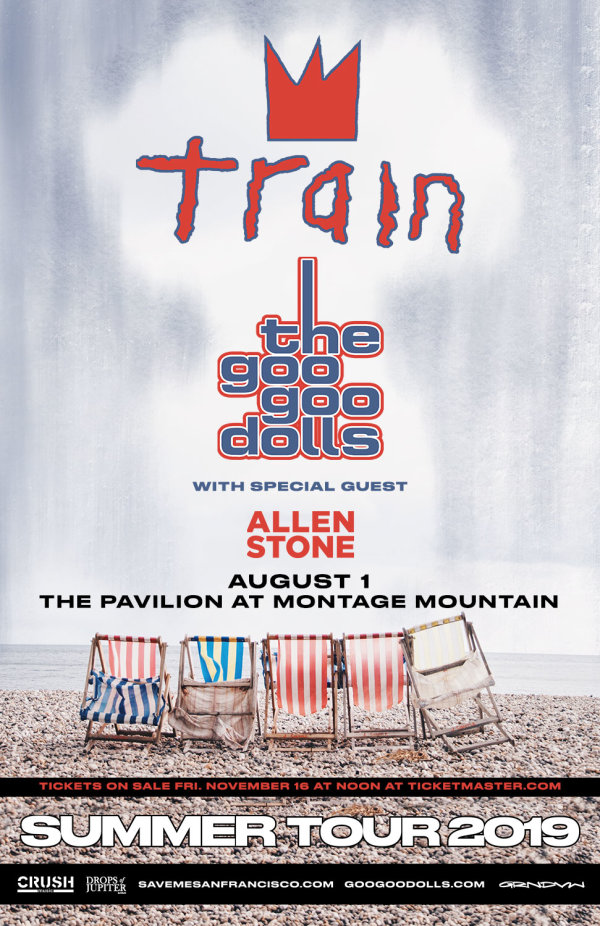 None - Train / Goo Goo Dolls at Montage Mountain!