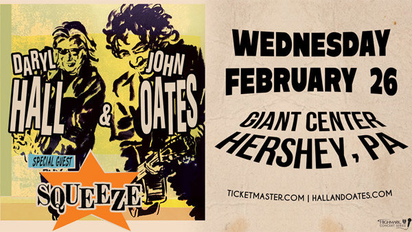 None - Daryl Hall & John Oates at Giant Center