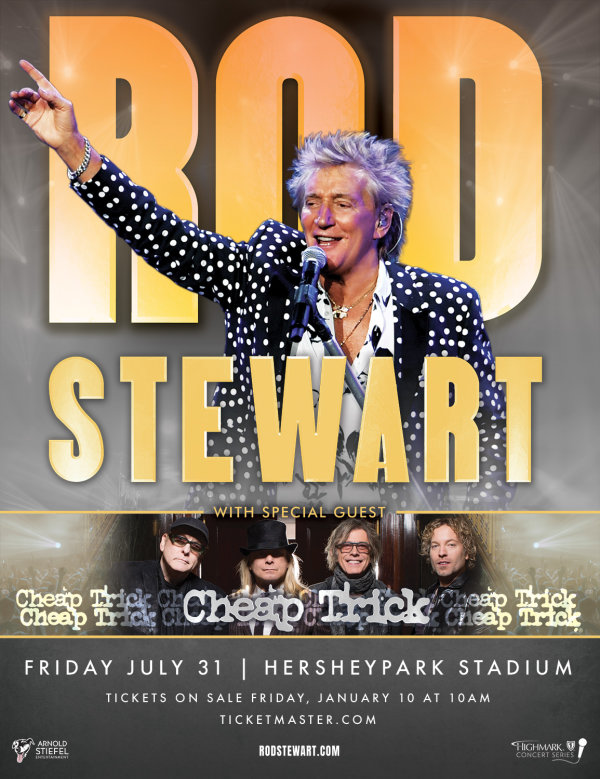 None - Rod Stewart at Hershey
