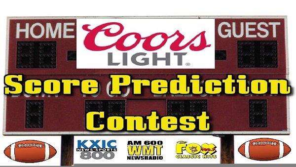 None -  Coors Light Football Score Prediction