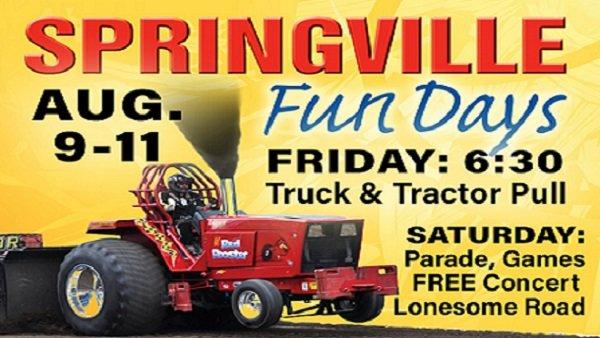 None - Springville Fun Days Tractor Pull